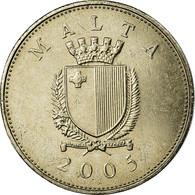 Monnaie, Malte, 25 Cents, 2005, Franklin Mint, SUP, Copper-nickel, KM:97 - Malta