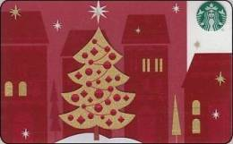 Germany  Starbucks Card Merry Christmass 2012-6079 - Gift Cards
