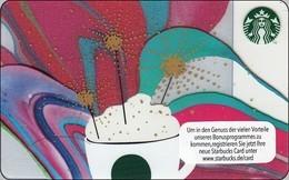 "Germany  Starbucks Card ""Celebration 2016"" 2016-6132 - SBX 17 - Gift Cards"