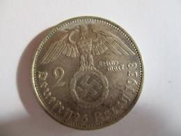 2 Reichmark 1938 G - [ 4] 1933-1945 : Troisième Reich