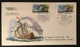 FDC CABOTO 1997 - 6. 1946-.. Repubblica