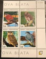 Bosnia And Hercegovina, HP Mostar, 2008, Mi: 243/46 (MNH) - Eagles & Birds Of Prey