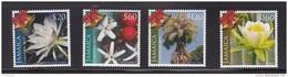 2013 Jamaica Christmas Flowers Coffee  Complete Set Of 4 MNH - Jamaica (1962-...)