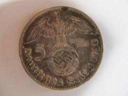 5 Reichmark 1938 D - [ 4] 1933-1945: Drittes Reich