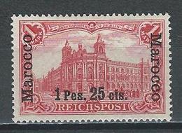 Deutsche Post In Marokko Mi 16  * MH - Bureau: Maroc