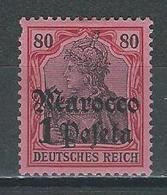 Deutsche Post In Marokko Mi 29  * MH - Bureau: Maroc