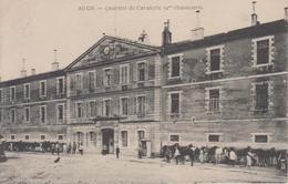 CPA Auch - Quartier De Cavalerie (9me Chasseurs ) (avec Animation) - Auch