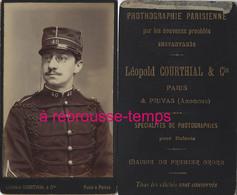 CDV Soldat Du 40e R  Photo Léopold Courthial Et Cie à Paris Et Privas (Ardèche) - Oorlog, Militair