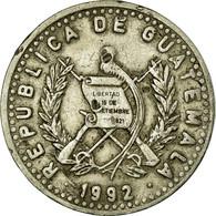 Monnaie, Guatemala, 25 Centavos, 1992, TB+, Copper-nickel, KM:278.5 - Guatemala