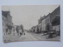 1914 CP Animée Etalle Grand'Rue Charrettes Edit Dorsinfang -Coulon - Etalle
