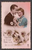 91823/ COUPLE, *Les Fleurs De Notre Amour*, Années 40 - Coppie