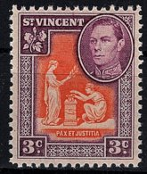 St Vincent, 1949, SG 166a, MNH - St.Vincent (...-1979)