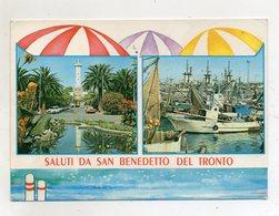 San Benedetto Del Tronto (Ascoli Piceno) - Saluti Da - Cartolina Multipanoramica - Viaggiata - (FDC16620) - Ascoli Piceno