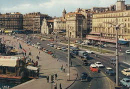 Peugeot 403,Renault R4,Citroen 2 CV,Ami,Simca 1500,Camion,Trolleybus,Marseille, Gelaufen - Passenger Cars