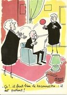 Humour. CPM. Les Vieilles Dames De Jacques Faizant - Humour