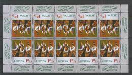 Litauen 664 ** Klbg. CEPT - Trachten (1998) - Litauen
