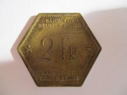 Congo Belge 2 Francs 1943 - Congo (Belge) & Ruanda-Urundi