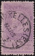 Belgie  .   OBP       .     66         .        O   .       Gebruikt    .   /  .      Oblitéré - 1893-1900 Thin Beard