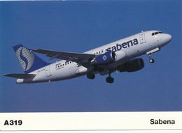 CP - Avion - Vliegtuig - Sabena - Airbus A319 - OO-SSE - Aviation