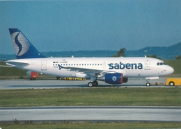 CP - Avion - Vliegtuig - Sabena - Airbus A319-112 - OO-SSC - Aviation