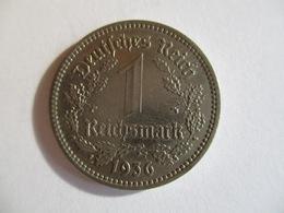 Germany : 1 Reichmark 1936 A - [ 3] 1918-1933 : Weimar Republic