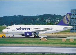 CP - Avion - Vliegtuig - Sabena - Airbus A319-112 - OO-SSI - Aviation