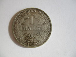 Germany 1 Mark 1882 H - [ 2] 1871-1918 : Empire Allemand