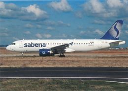 CP - Avion - Vliegtuig - Sabena - Airbus A320-214 - OO-SNE - Aviation