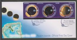 Pitcairn Total Eclipse 2005 FDC - Océanie