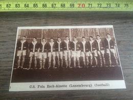 1932 1933 M EQUIPE DE FOOTBALL CS FOLA ESCH ALZETTE ESCH SUR ALZETTE LUXEMBOURG - Collections