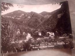 Piano Degli Ontani La Peschiera Con Veduta Monte Cardoso Villaggio Toscano Il Cimone VIAGGIATA 1955 - Pistoia