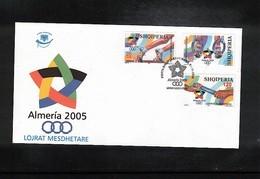 Albania 2005 Sport Games Of Small Countries Almeria FDC - Briefmarken