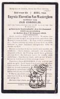 DP 100 Honderdjarige Eeuweling Centenaire - Eugenia F. Van Wonterghem ° Lotenhulle 1813 † Aalter 1913 X Jan Cornelis - Images Religieuses