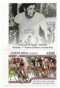 2014 Costa Rica Cycling Complete Set Oi 1  MNH - Costa Rica