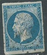 Timbre Napoleon III  1854 Yvt 14A - 1853-1860 Napoléon III