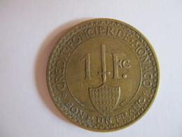 Monaco 1 Franc Crédit Foncier De Monaco 1926 - Mónaco