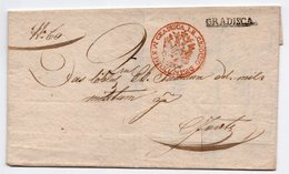 1837 GRADISCA, CROATIA, AUSTRO HUNGARIAN EMPIRE - Austria