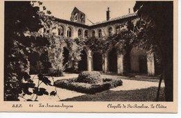 LES ARCS SUR ARGENS - CHAPELLE DE  SAINTE ROSELINE - LE CLOÎTRE - Les Arcs