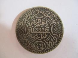 Morocco 5 Dirham 1336 HE (1917) - Maroc
