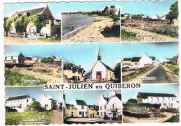 SAINT JULIEN En QUIBERON  56  Multivues Avec 9 Photos . - France