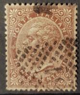 ITALIA / ITALY 1863 - Canceled - Sc# 30 - 30c - 1861-78 Victor Emmanuel II.