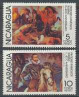 [808518]TB//**/Mnh-c:5e-Nicaragua 1978, PA903/04, Peintres Célèbres, Painting - Nicaragua