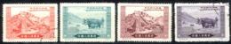 China - People's Republic Sc# 132-135 Used (REPRINTS) 1952 Liberation Of Tibet - Réimpressions Officielles