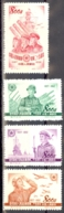 China - People's Republic Sc# 159-162 Unused 1952 People's Liberation Army 25th - 1949 - ... République Populaire