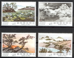 China, Republic Sc# 1960-1963 MNH 1975 Paintings - Unused Stamps