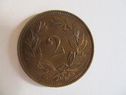 Suisse: 2 Centimes 1914 - Switzerland