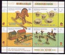 Argentina - 2007 - Jouets Pour Enfants - Blocks & Sheetlets