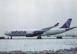 CP - Avion - Vliegtuig - Sabena - Airbus A340-xxx - OO-SCW - Aviation