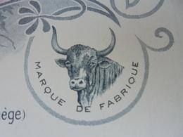 LA VACHE, L'AIGUILLON-BELESTA, ARIEGE, 1910 - PEIGNES EN CORNE - TISSEYRE, FOUET, CAZAMEA - ILLUSTREE - Francia