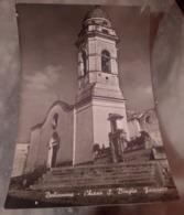 DOLIANOVA Chiesa S. Biagio Facciata VIAGGIATA 1955 - Cagliari